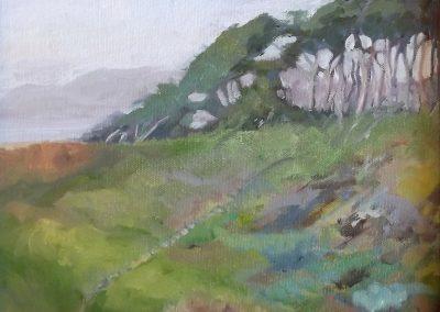 """SOLD Christine Apostolina Beirne """"Lands End Trail - San Francisco"""""""