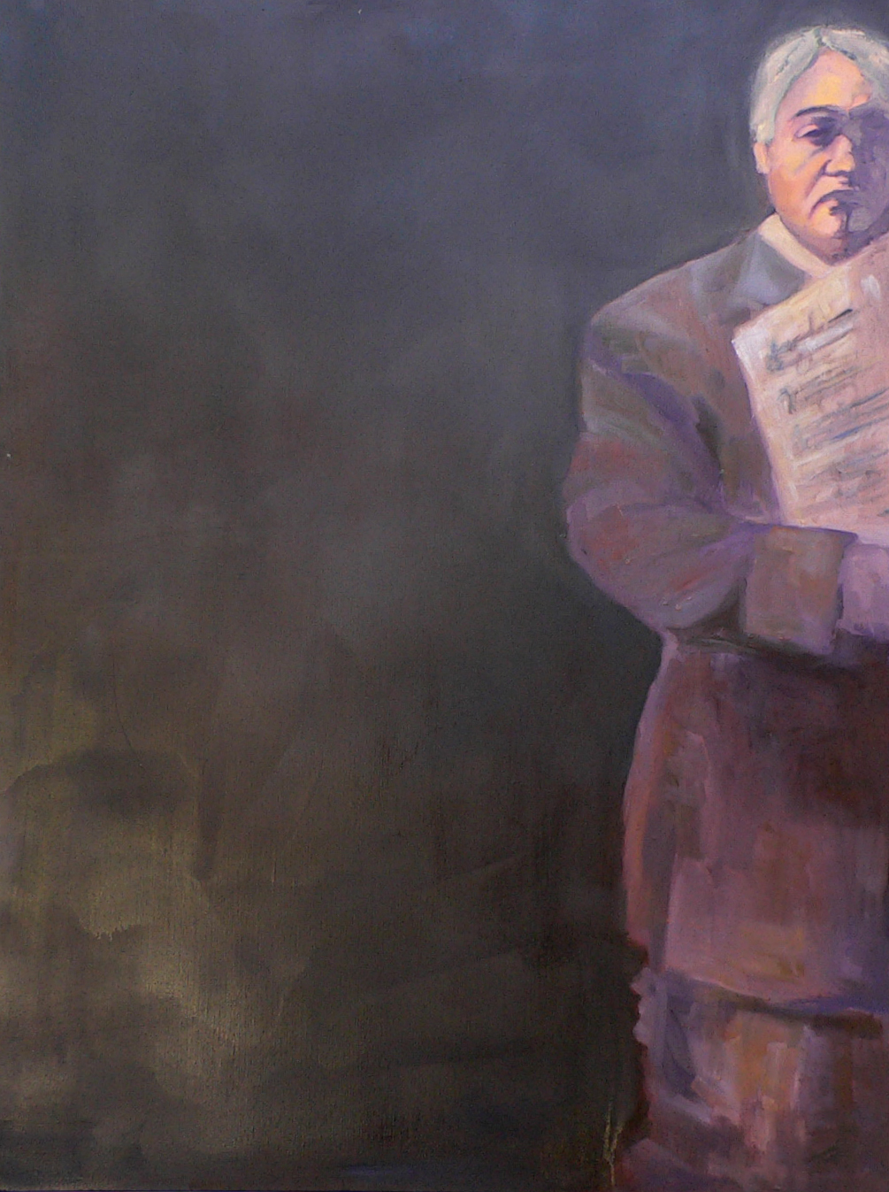 "SOLD Christine Apostolina Beirne ""The Emperor (Burns Taft, conductor)"""
