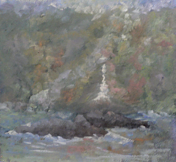 "SOLD Christine Apostolina Beirne ""Anacapa Morning Fog"""