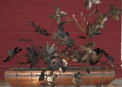 Welded Steel Flowers
