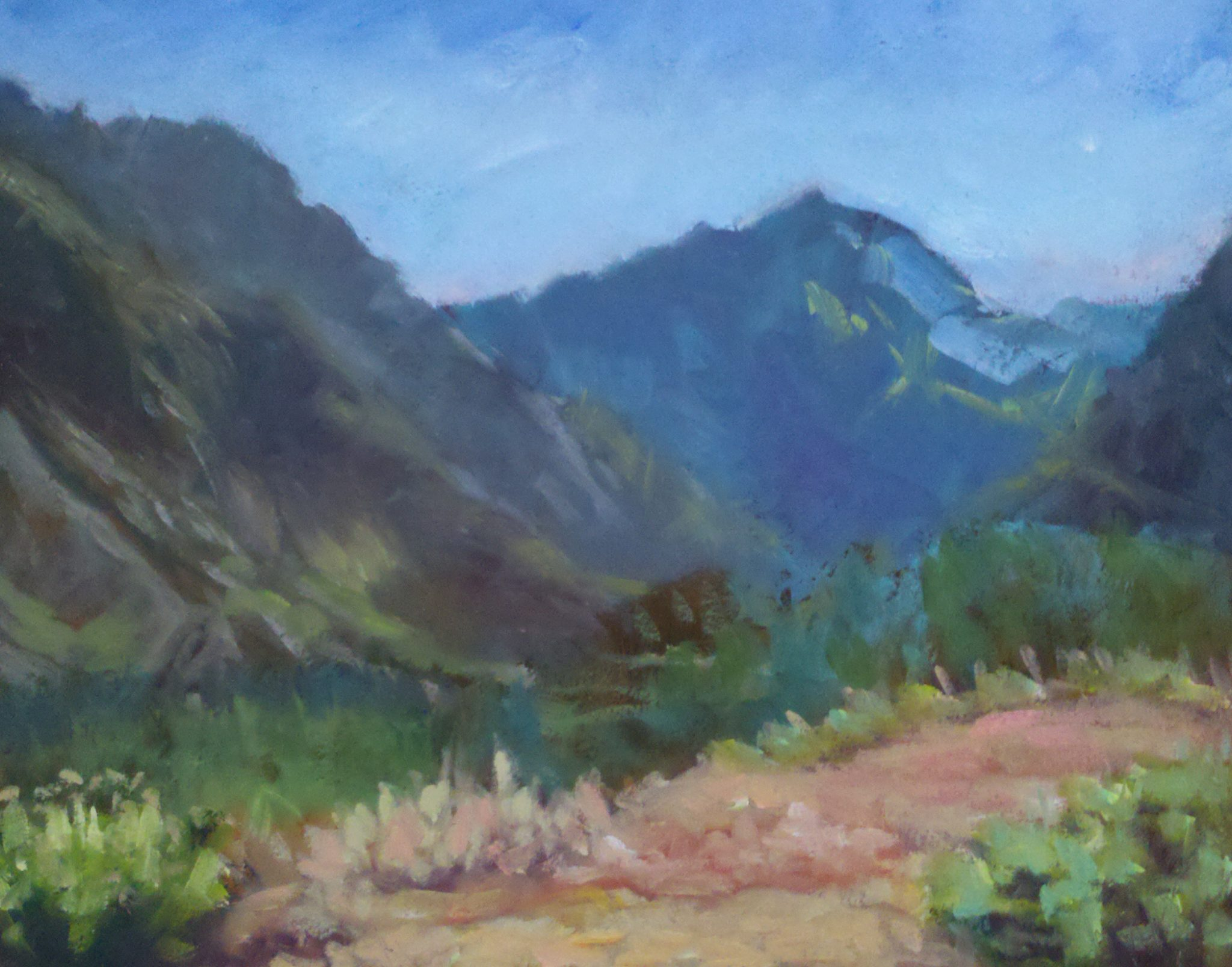 "SOLD Christine Apostolina Beirne ""Yosemite, Upper Entrance"""