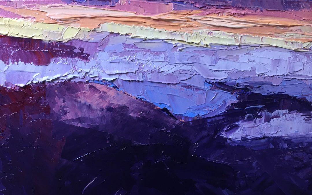 "Christine Apostolina Beirne ""Morning at Haleakalā"""