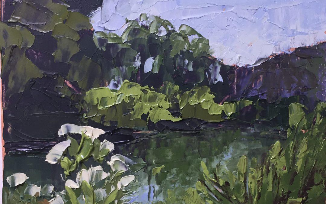 "Christine Apostolina Beirne ""San Antonio Creek"""