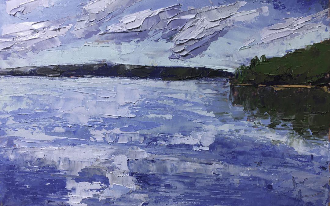 "Christine Beirne ""The Sound of Silence: Lake Nemegosenda"""