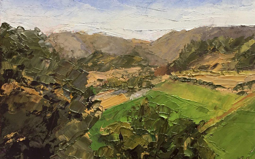 """Christine Apostolina Beirne """"Valley View Vineyard"""""""