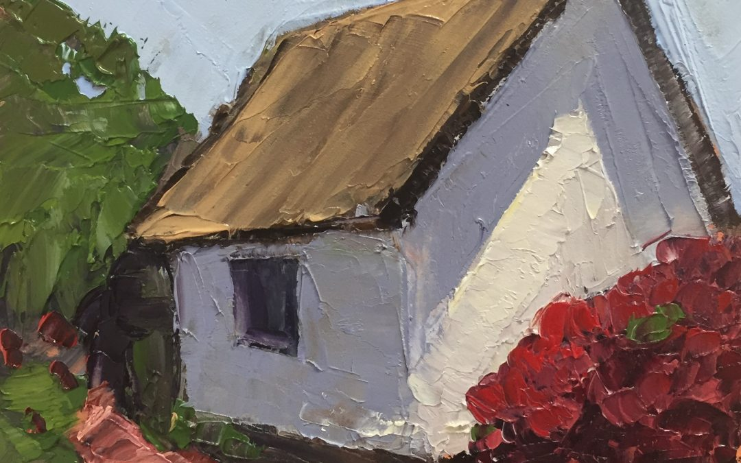 "Christine Apostolina Beirne ""Rancho Camulos Corner"""