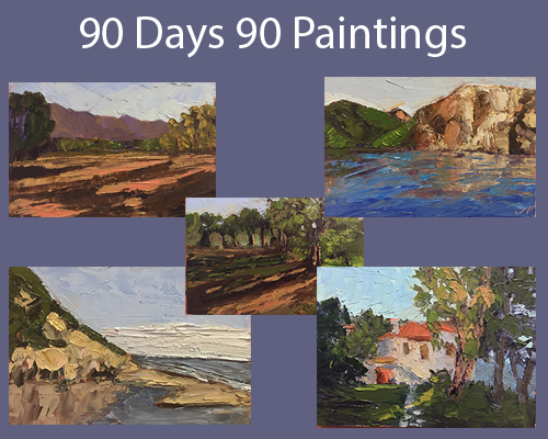 90 Day Challenge Exhibit at Buenaventura Art Association's New Space!
